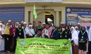 Jamaah Umrah Ramadhan PT Sahara Kafila (2018)